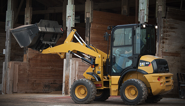 wheel loader small