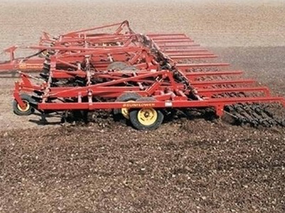 Sunflower Field Cultivator